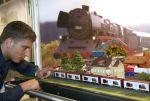 Auch Modelleisenbahnfreunden wird auf der Intermodellbau einiges geboten. (Foto: Intermodellbau)