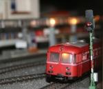 Der alte Schienenbus war gestern. Jetzt ist bei Märklin Multimedia angesagt. (Foto: BFH)